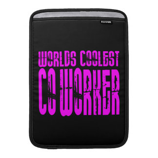 Cool Co-Workers + Pink : Worlds Coolest Co-Worker MacBook Air Sleeves