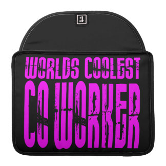 Cool Co-Workers + Pink : Worlds Coolest Co-Worker MacBook Pro Sleeves