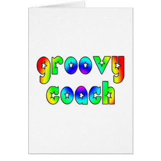 Cool Coaches Birthday Victory Parties Groovy Coach Cards