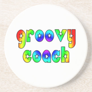 Cool Coaches Birthday Victory Parties Groovy Coach Beverage Coasters