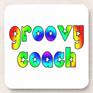 Cool Coaches Birthday Victory Parties Groovy Coach Beverage Coaster