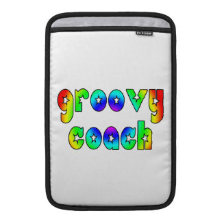 Cool Coaches Birthday Victory Parties Groovy Coach Sleeve For MacBook Air