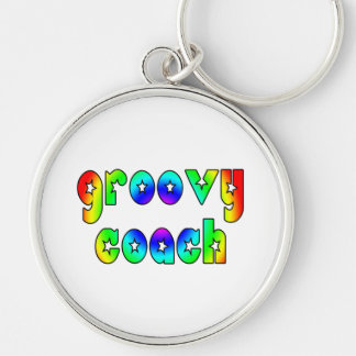 Cool Coaches Birthday Victory Parties Groovy Coach Keychain