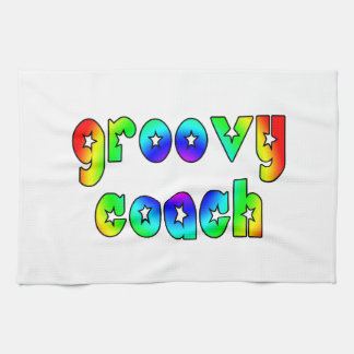 Cool Coaches Birthday Victory Parties Groovy Coach Kitchen Towel