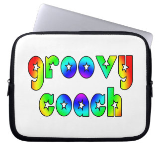 Cool Coaches Birthday Victory Parties Groovy Coach Laptop Computer Sleeves