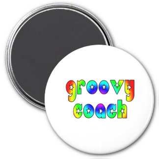 Cool Coaches Birthday Victory Parties Groovy Coach Refrigerator Magnets