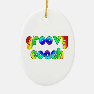 Cool Coaches Birthday Victory Parties Groovy Coach Christmas Tree Ornaments