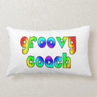 Cool Coaches Birthday Victory Parties Groovy Coach Throw Pillows