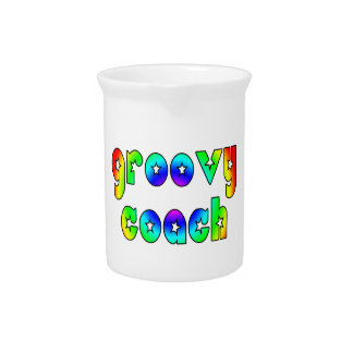 Cool Coaches Birthday Victory Parties Groovy Coach Beverage Pitcher