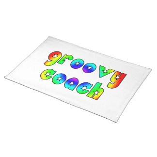 Cool Coaches Birthday Victory Parties Groovy Coach Place Mats
