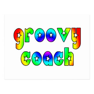 Cool Coaches Birthday Victory Parties Groovy Coach Postcard