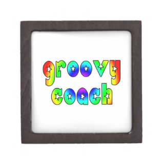 Cool Coaches Birthday Victory Parties Groovy Coach Premium Keepsake Box