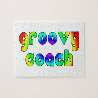 Cool Coaches Birthday Victory Parties Groovy Coach Jigsaw Puzzles
