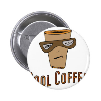 Cool Coffee 2 Inch Round Button