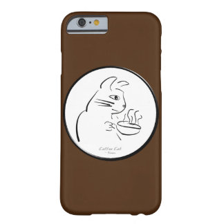 Cool Coffee Cat case Barely There iPhone 6 Case