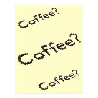 Cool Coffee Design Postcard