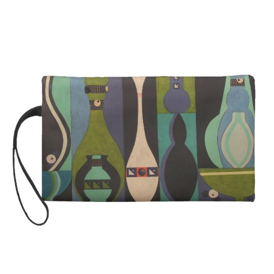 Cool Collection Mid-Century Design Wristlet Purse