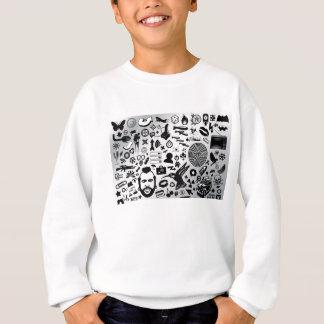 Cool colllage sweatshirt