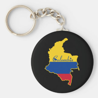 Cool Colombia Keychain
