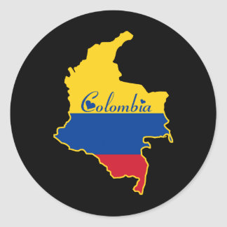 Cool Colombia Stickers