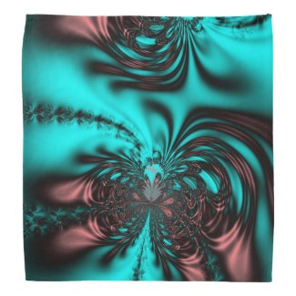 Cool Color Fractal Bandanna