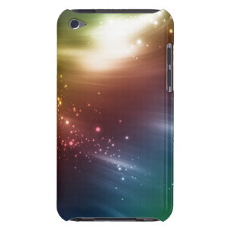 Cool Color Glow with Name IPod Touch Case Cover