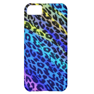 Cool color seamles animal print texture of leopard iPhone 5C covers