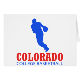 cool Colorado basketball DESIGNS Card