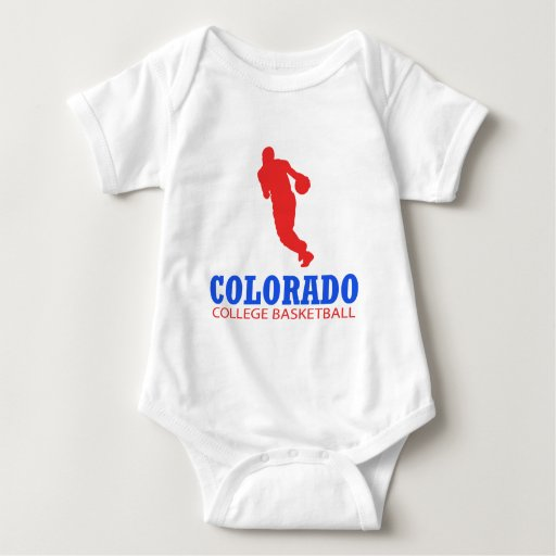 Cool Colorado Basketball Designs T Shirts Zazzle