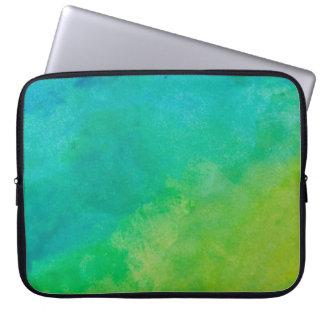 Cool Colored Tie Dye Laptop Sleeve.