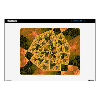 Cool colorful abstract pattern laptop decals