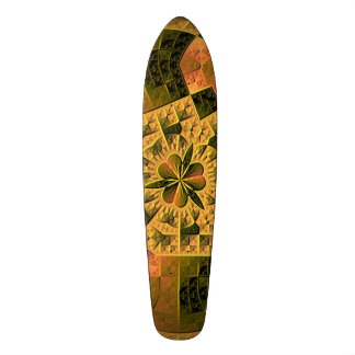 Cool colorful abstract pattern custom skate board