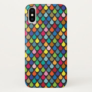 Cool Colorful Animal Scale Pattern iPhone XS Case