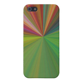 COOL COLORFUL BURST iPHONE CASE