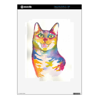 Cool colorful cat skins for the iPad 2