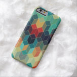 Cool Colorful Cubes Geometric Pattern 5 Barely There iPhone 6 Case