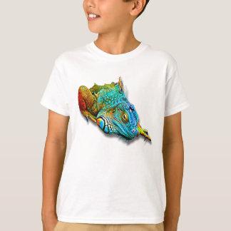 Cool Colorful Cute Lizard Reptile T-Shirt