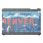 Cool Colorful Denver Air Conditioned By Nature, Vi iPad Mini Covers