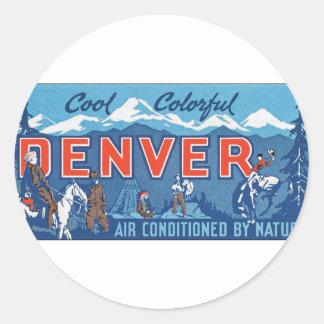 Cool Colorful Denver Sticker