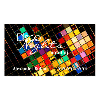 Cool Colorful DJ-Indestructible Double-Sided Standard Business Cards (Pack Of 100)