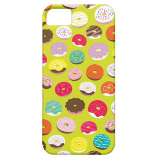 Cool colorful donuts illustration pattern iPhone SE/5/5s case