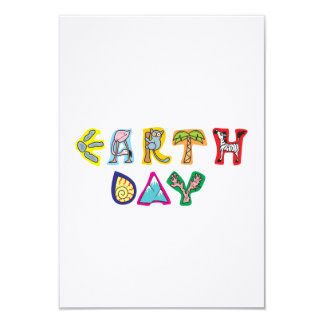 Cool Colorful Earth Day Card