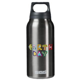 Cool Colorful Earth Day Custom Drinkware Thermos Bottle