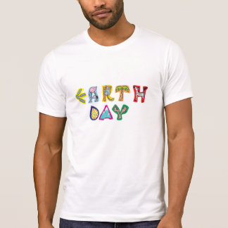 Cool Colorful Earth Day T Shirt
