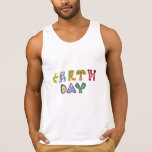 Cool Colorful Earth Day Tanktop
