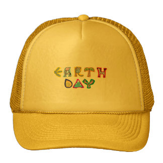 Cool Colorful Earth Day Trucker Hat