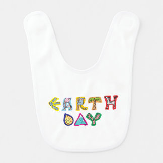 Cool Colorful Earth Day Bibs