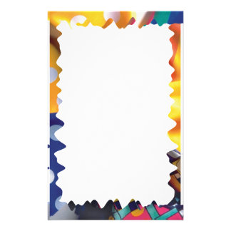 Cool colorful frame - Stationery