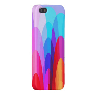 Cool Colorful Geometric Pattern Abstract Design iPhone SE/5/5s Cover