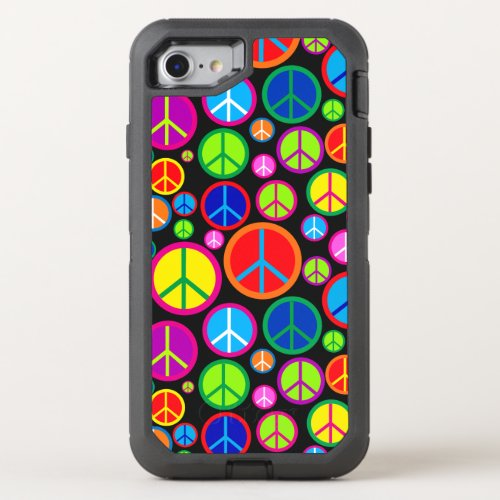 Cool Colorful Groovy Peace Symbols